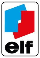 "Binnenruit sticker ""elf"" 7 x 4,5 cm"