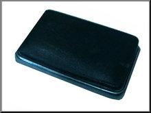 Asbak zwart (gebruikt)