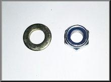 Moer en revet centrale as driehoekarm